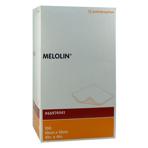 Melolin 10x10 melolin 10x10 cm wundauflagen steril 100 st 252 ck bestellen medpex versandapotheke
