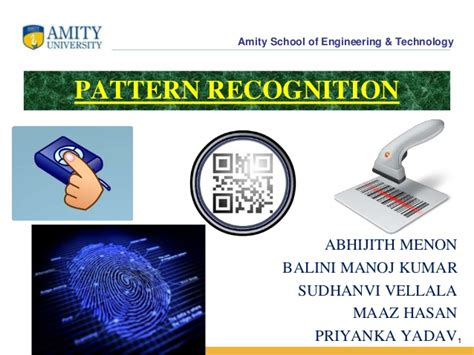 pattern recognition engineering pattern recognition