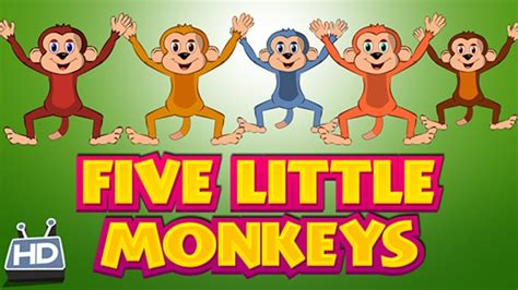 five little monkeys jumping 0547510756 five little monkeys jumping on the bed children nursery rhymes best songs youtube