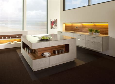 Kitchen Island With Table Combination by Your Ideal Kitchen In Watford