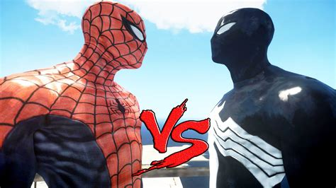 black spiderman spiderman vs black spider man youtube
