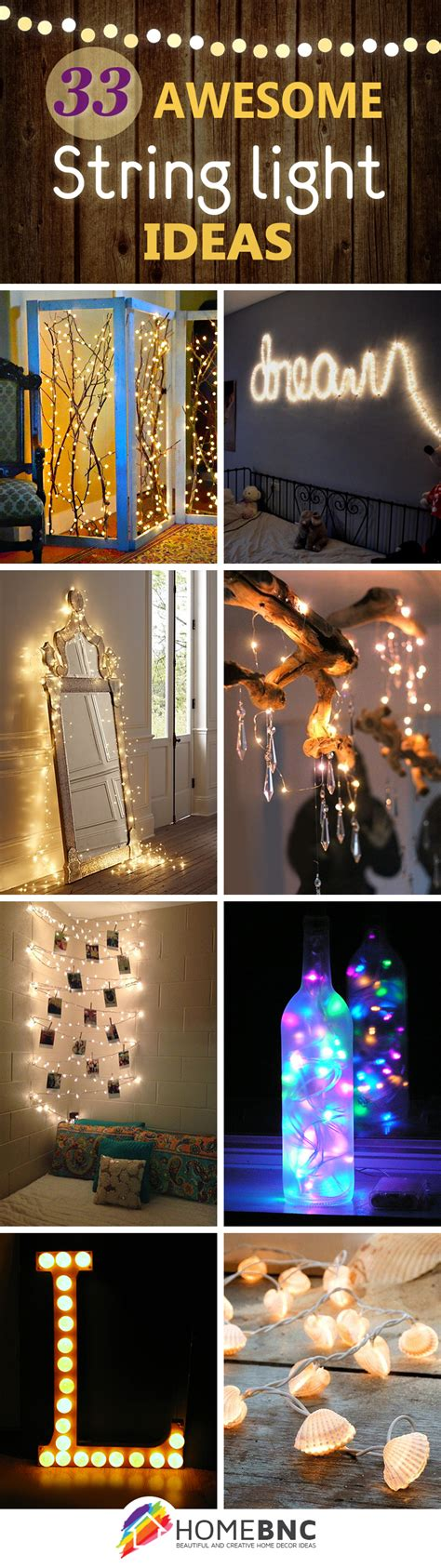string light ideas 33 best string lights decorating ideas and designs for 2017