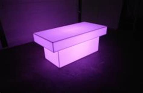Light Up Coffee Table by Light Up Tables For Tradeshow And Special Events