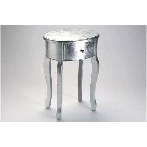 Table De Chevet Argente
