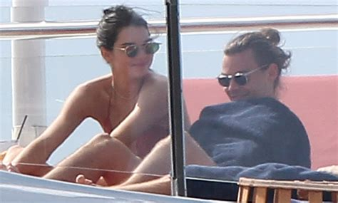 harry styles tattoo kendall kendall jenner harry styles show major pda on a yacht
