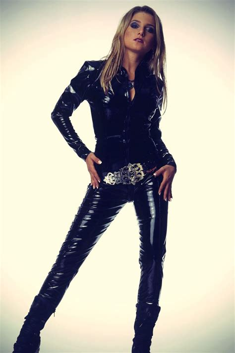 Jumpsuit Black Bangkok jeanette biedermann guido ohlenbostel photoshoot leather