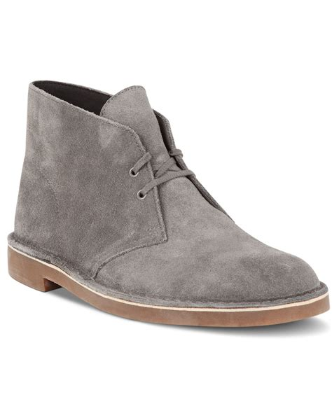 clarks chukka boots clarks s bushacre 2 chukka boots in brown for