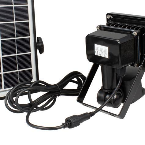 Led Leuchten Shop 10w highpower solar led fluter mit bewegungsmelder und
