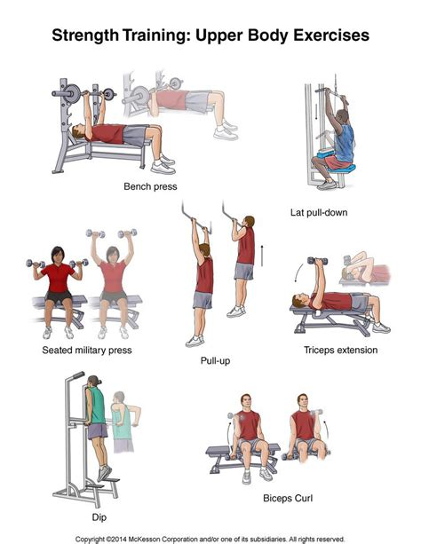 weight bench exercise routines summit medical group