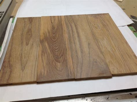 wide plank burmateak hawaii project natural color with soft finishing natural hardwood