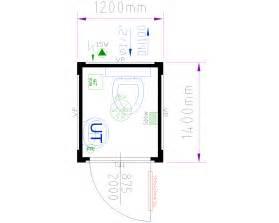 dimensioni bagno chimico prefabbricato modulare ad uso wc containex