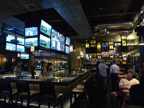 top bar and grill admg completes unique high end sports bar admg companies