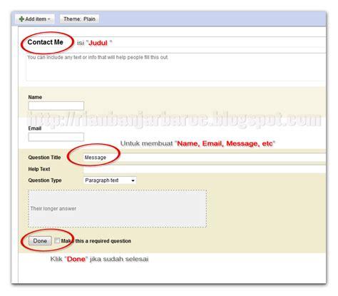 membuat form pencarian google membuat contact form dengan dengan google docs