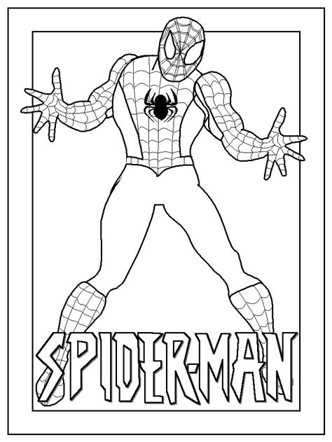 free spiderman coloring page spiderman coloring pages coloringpagesabc com