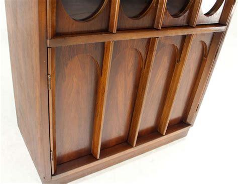 mid century modern walnut and rosewood hall cabinet for mid century danish modern walnut and rosewood slim curio