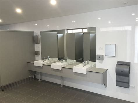 bathroom in sydney vanities toilet and shower partitions compact laminate