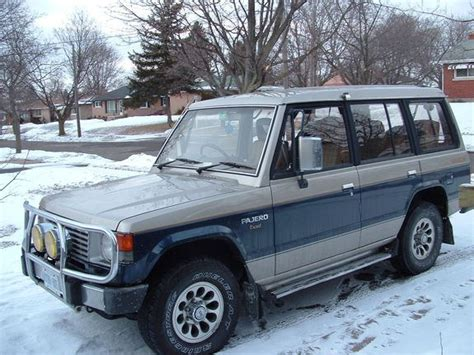 how can i learn about cars 1988 mitsubishi cordia interior lighting bill bly ca 1988 mitsubishi pajero specs photos modification info at cardomain