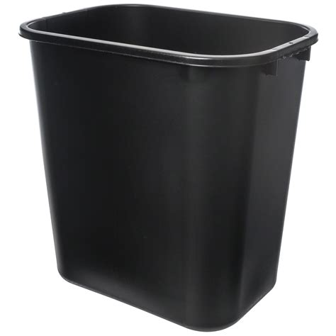 waste basket pinch tsh 28qbk 1 28 qt office waste basket