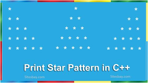 number pattern in c language c program to print star pattern c program to print