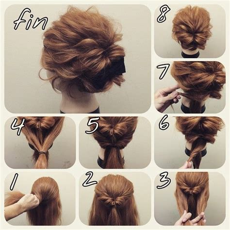 steps of different plate hairstyles 25 best ideas about easy updo on pinterest easy chignon