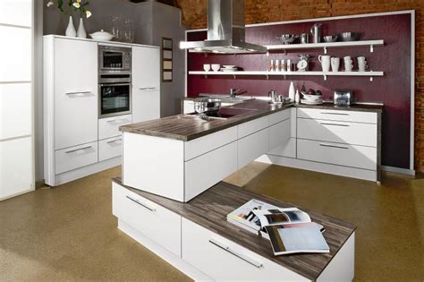 stylish kitchen design stylish contemporary kitchens from bauformat