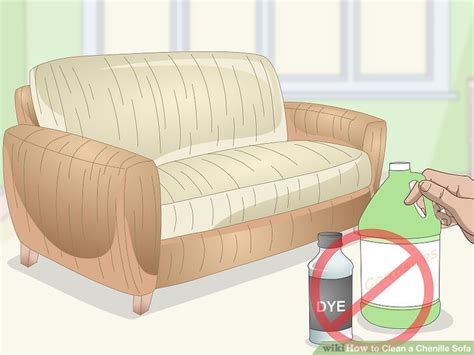 3 Ways To Clean A Chenille Sofa Wikihow
