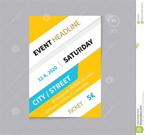 event brochure template event flyer exles letter of no objection template loan