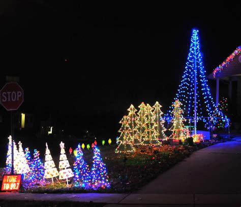 county residents share holidays through light displays