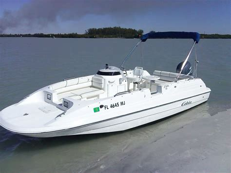 boats usa cobia 216 deck boat boat for sale from usa