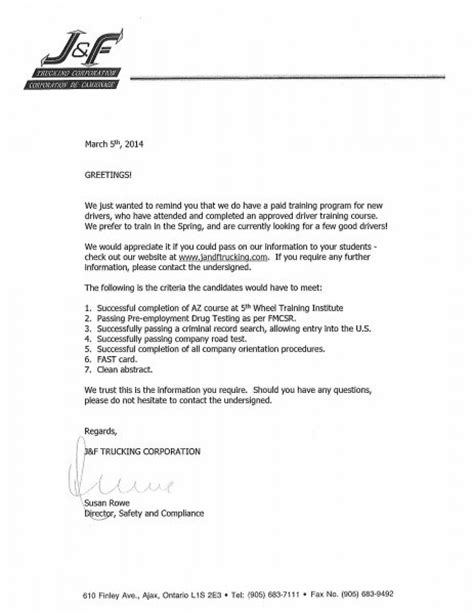 Cover Letter About The Company by Cover Letter For Trucking Company Editpaper Web Fc2
