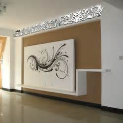 Mirror Wall Art Stickers continental wall stickers diy home decoration ceiling