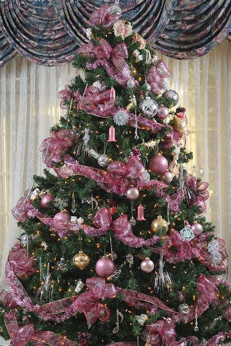 unique christmas tree lights christmas tree decorations blue and pink