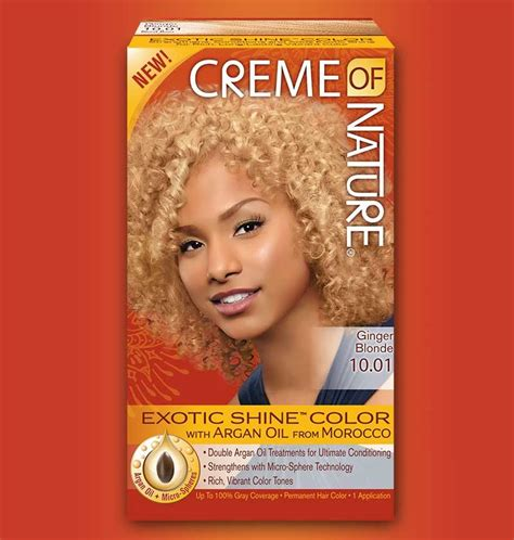 creme of nature hair colors review dying hair x creme of nature x