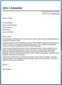 Peace Officer Cover Letter by Officer Cover Letter Sle Graduation Letter Sle And Letters