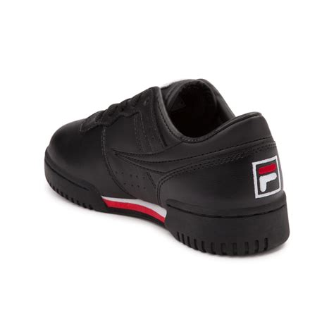 fila athletic shoes tween fila original fitness athletic shoe black 1372582