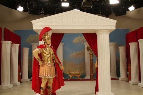 Roman Centurion   First Scene   NZ's largest prop