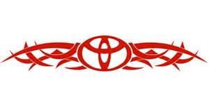 Toyota Decals Toyota Tribal Back