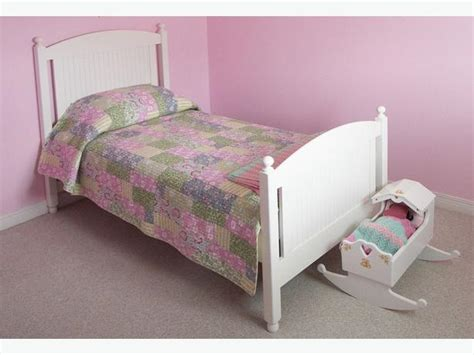 twin bed white wood girls twin bed in white solid wood gloucester ottawa
