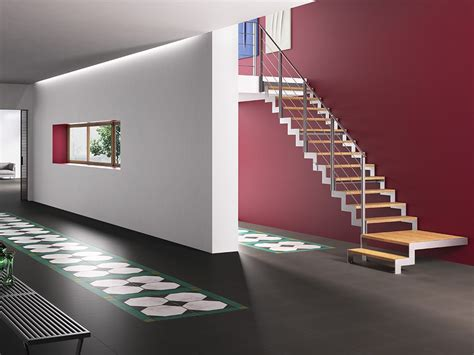 gel nder treppe holz lafont fulmine by fontanot spa