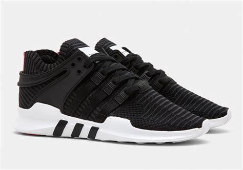 Original Adidas Eqt Racing Adv Primeknit Black White adidas eqt adv support primeknit black turbo sneaker bar detroit