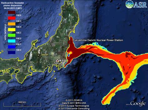 fukushima radiation map fears as fukushima radiation arrives from japan this year pols499 politics of disaster