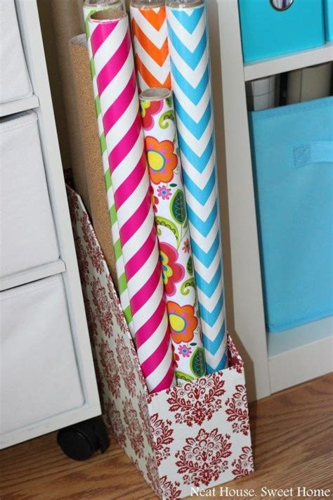 Wrapping Paper Craft Ideas - 17 best ideas about wrapping paper organization on