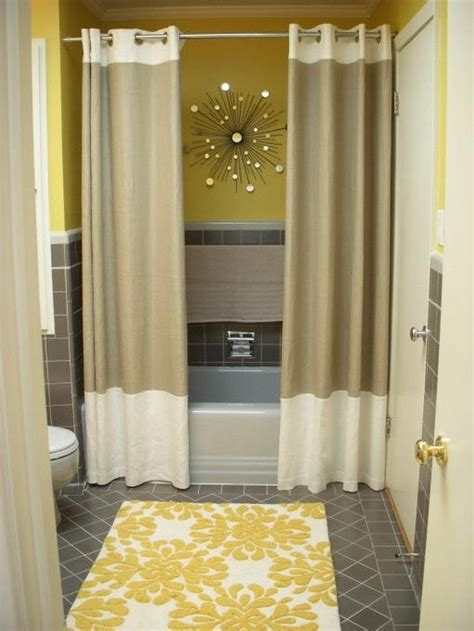 bathroom cool shower curtain ideas  modern bathroom