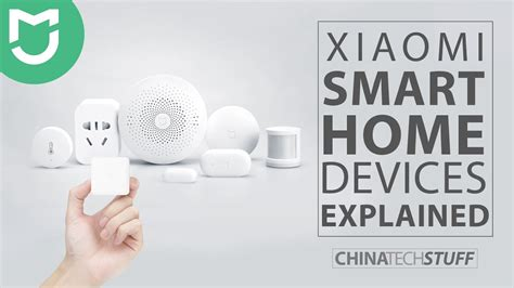 smart home products xiaomi smart home products explained youtube