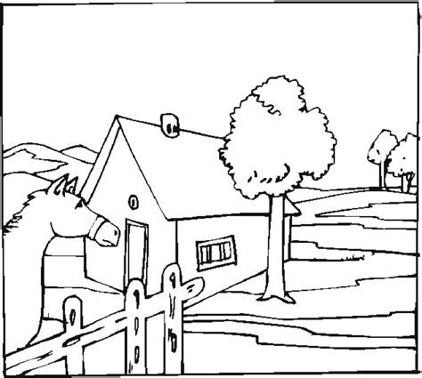 Ranch Coloring Pages free coloring pages of farm yard