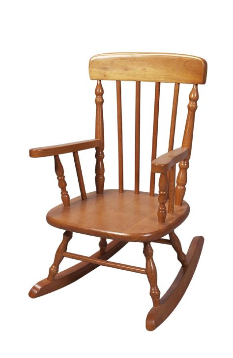 sears rocking chair giftmark 1410h child s colonial rocking chair honey sears