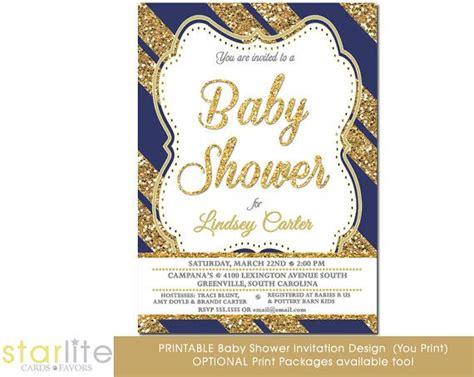 abstract baby shower invitation boys navy mint gold dot baby shower invitation boy navy and gold glitter stripes