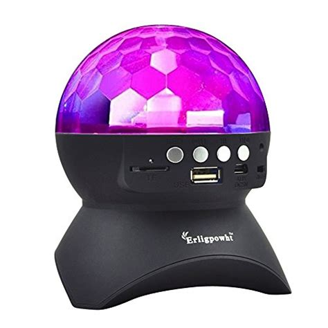 Speaker Bluetooth Magic Led Lu Disco With Remote Terbaru erligpowht stage lights rotating magic effect disco