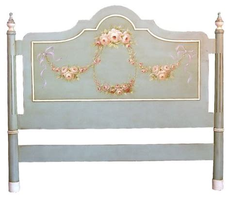 headboard templates shabby chic painted headboard template italian hand