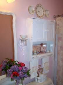 shabby chic bath s home my shabby pink bathroom